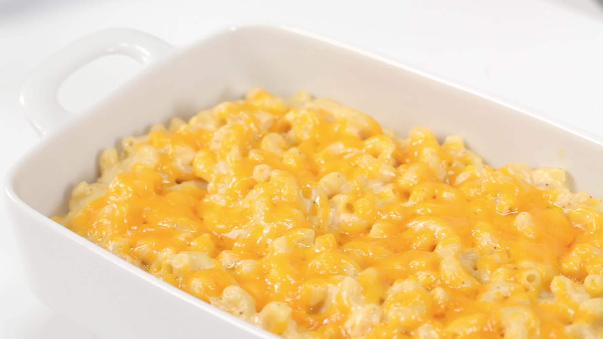 How to Make Classic Baked Macaroni and Cheese | MyRecipes