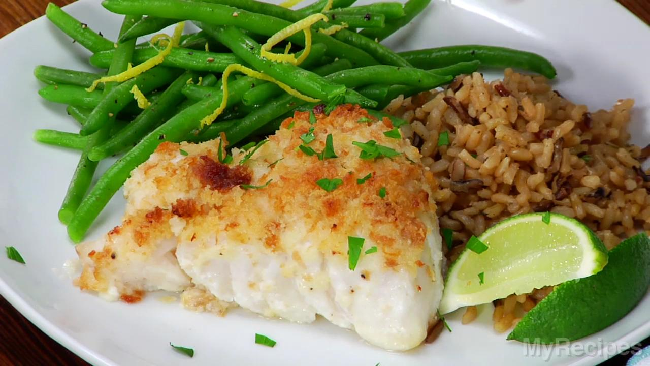 how to make easy baked fish fillets myrecipes