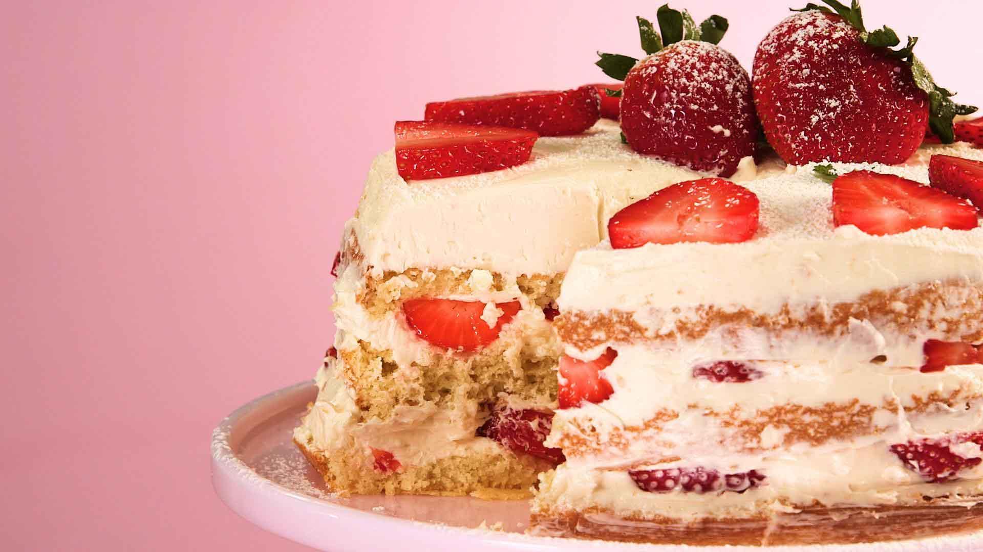 My Cake Maker Recipes List: Basic Naked Cake Recipe