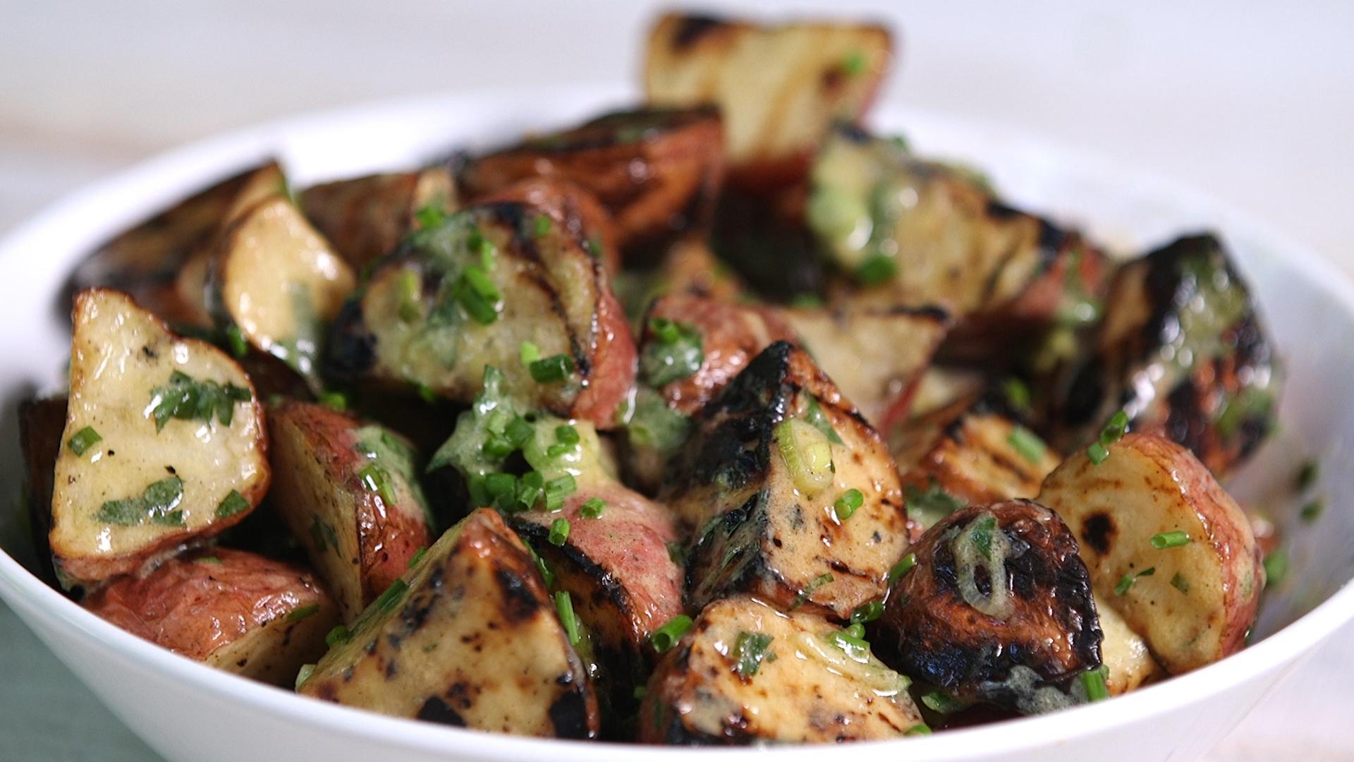how to cook potato salad video