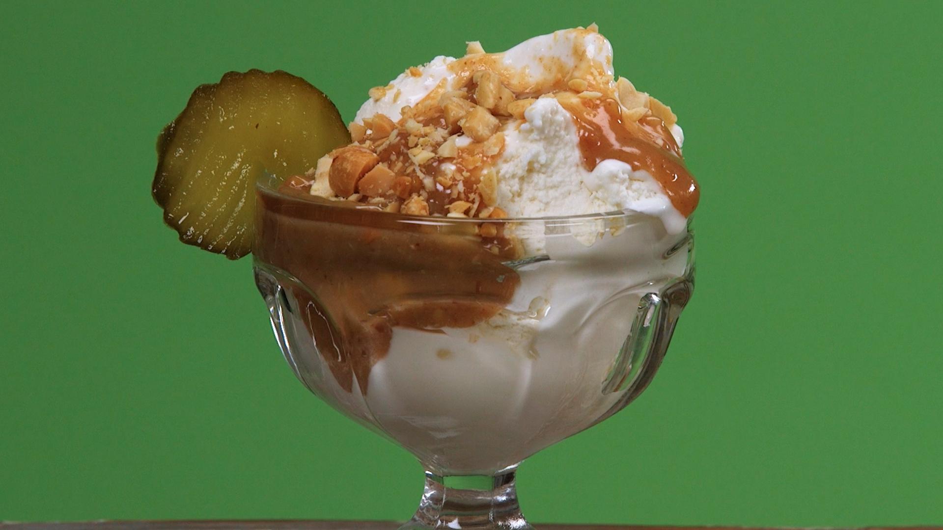 The Best Pickle Flavored Ice Cream Recipes on Yummly | Umeboshi Pickled Plum Ice Cream, Matcha Ice Cream - 抹茶アイスクリーム レシピ, Naked Chocolate Ice Cream.