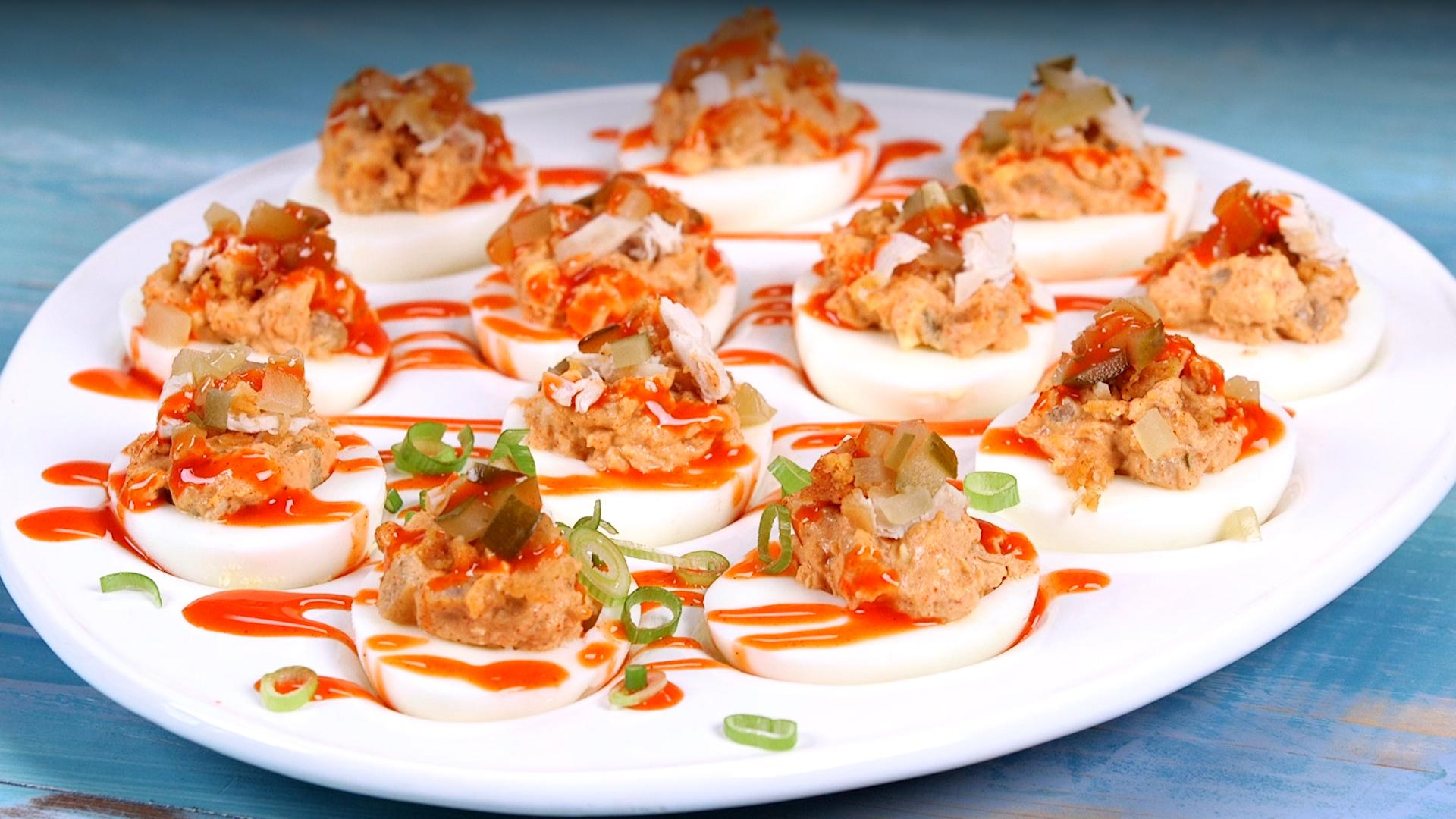 The Secret To The Best Deviled Eggs Southern Living