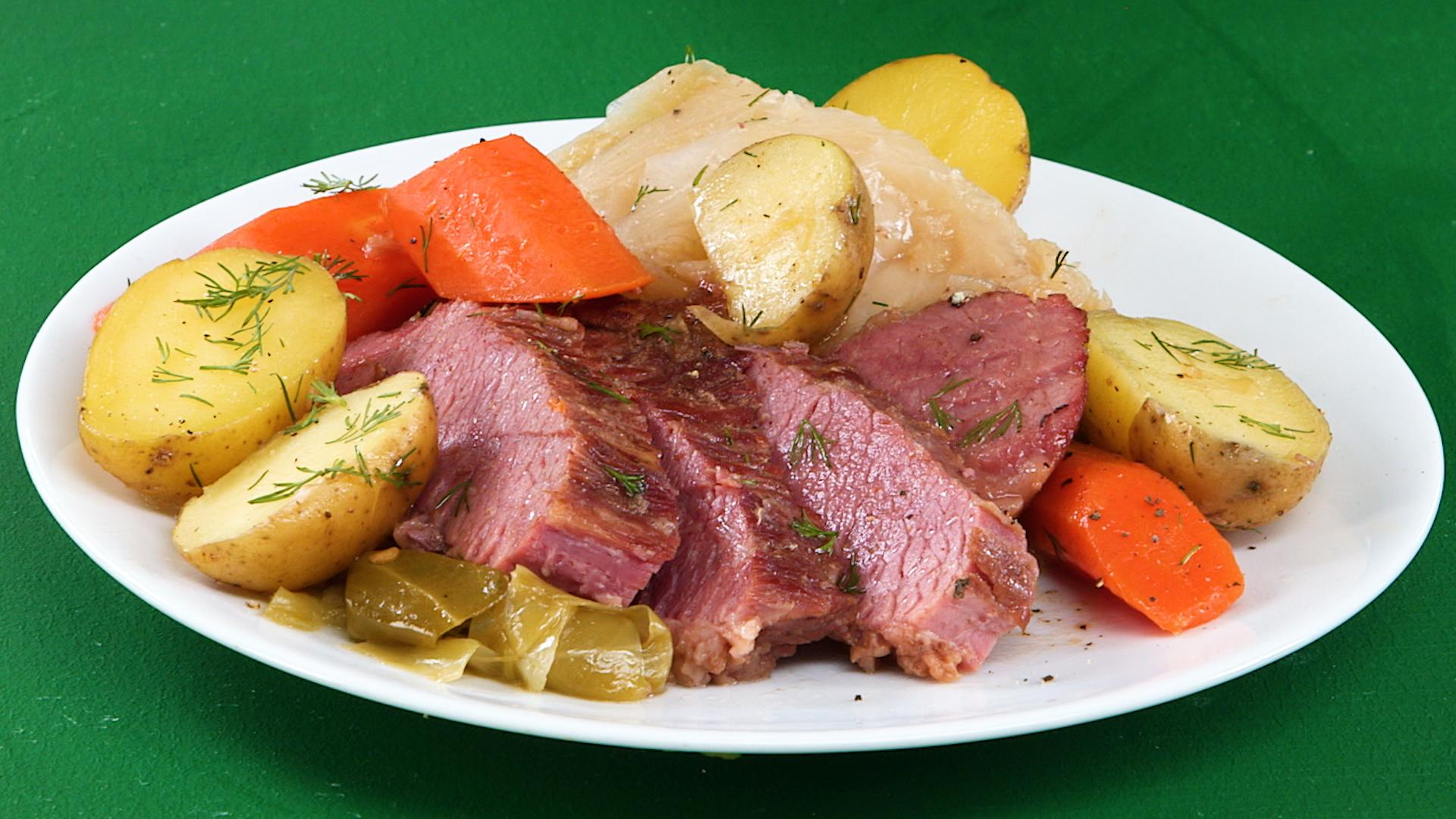 Instant Pot Recipe For Corned Beef And Cabbage
