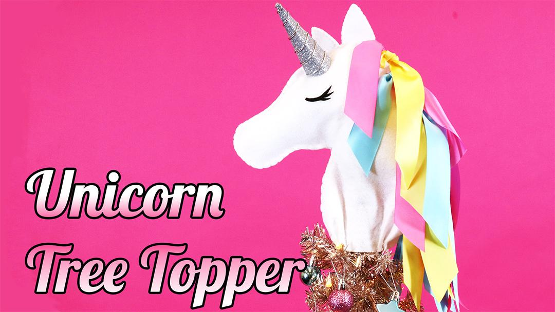 Flipboard This Unicorn Christmas Tree Topper Is The Diy Magic Your