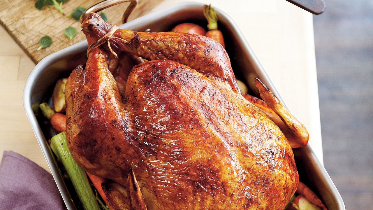 Roasted Herb Turkey And Gravy Recipe Southern Living