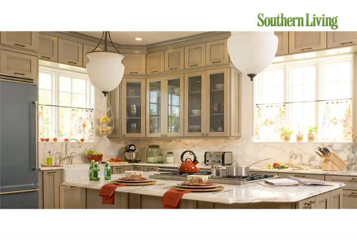 Kitchen lighting ideas southern living for Southern living kitchen designs