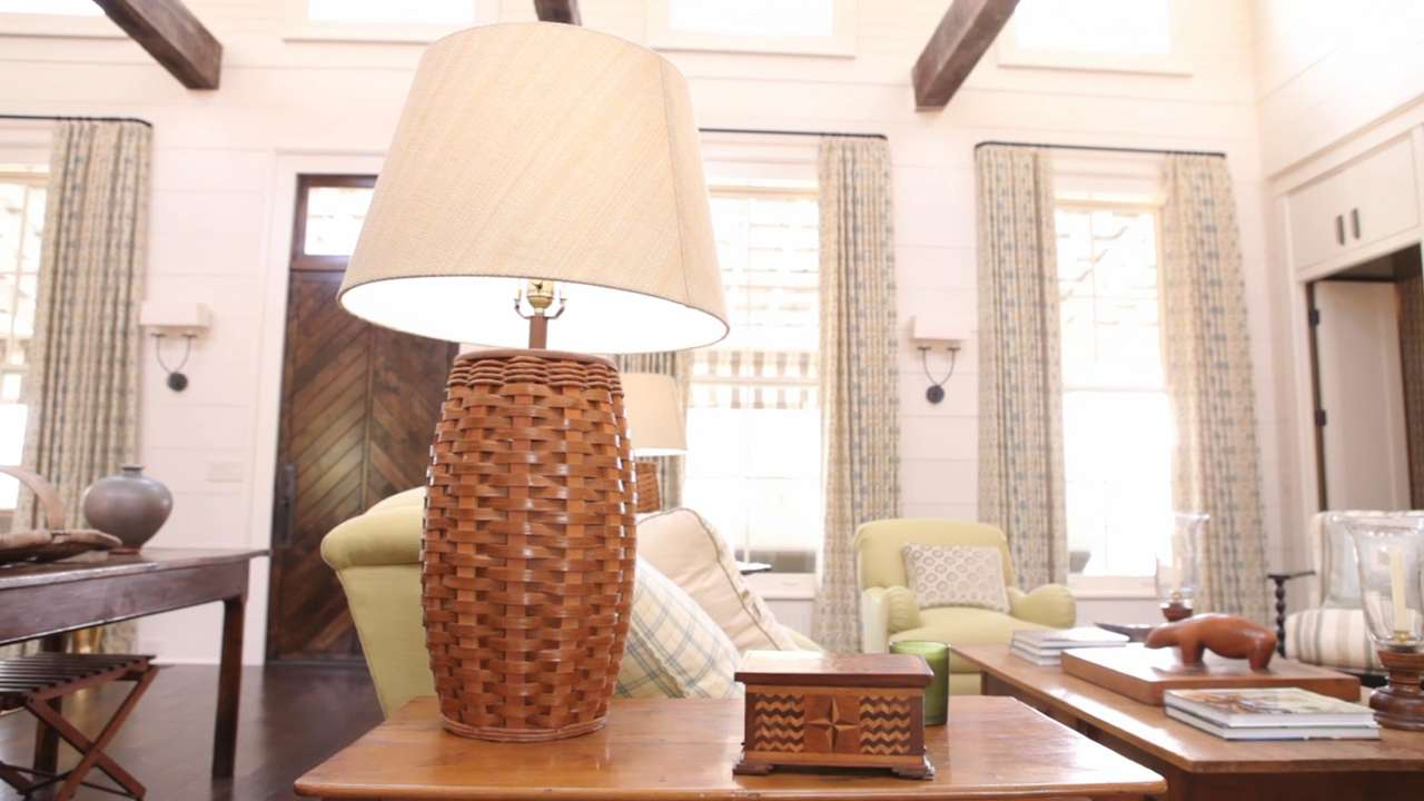The Right Height For Table Lamps Southern Living