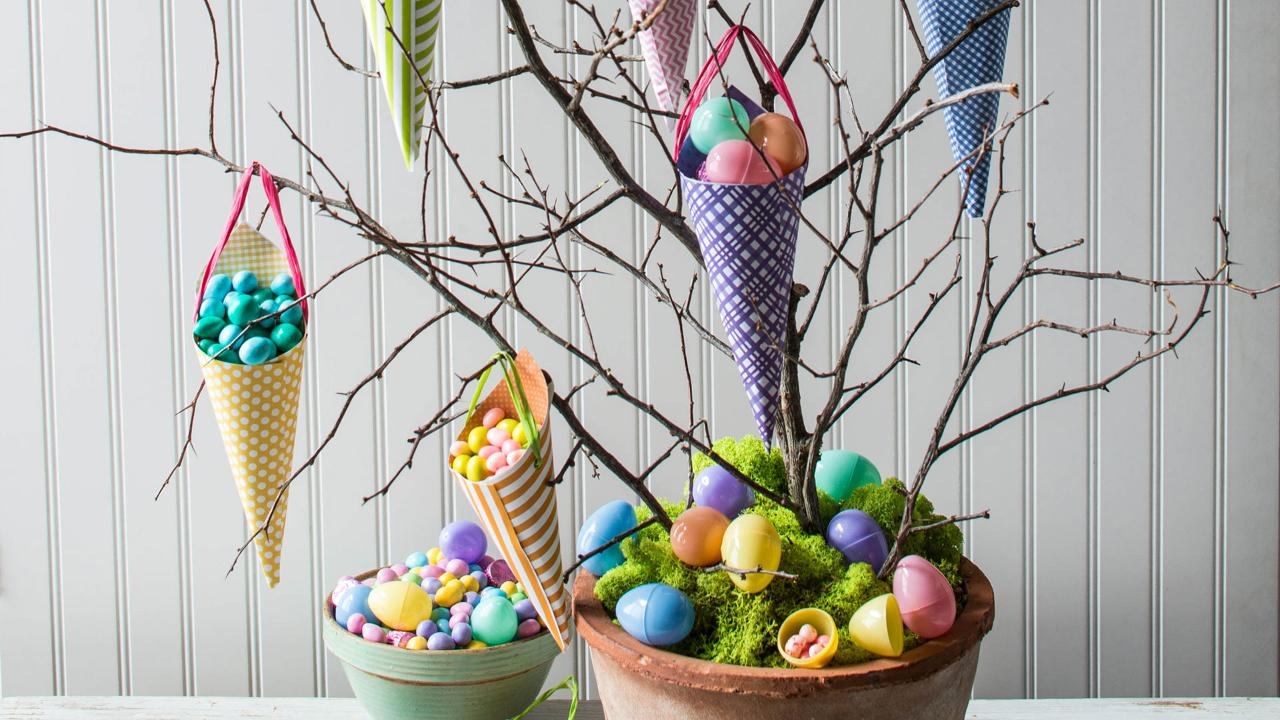 How To Make An Easter Candy Tree Southern Living
