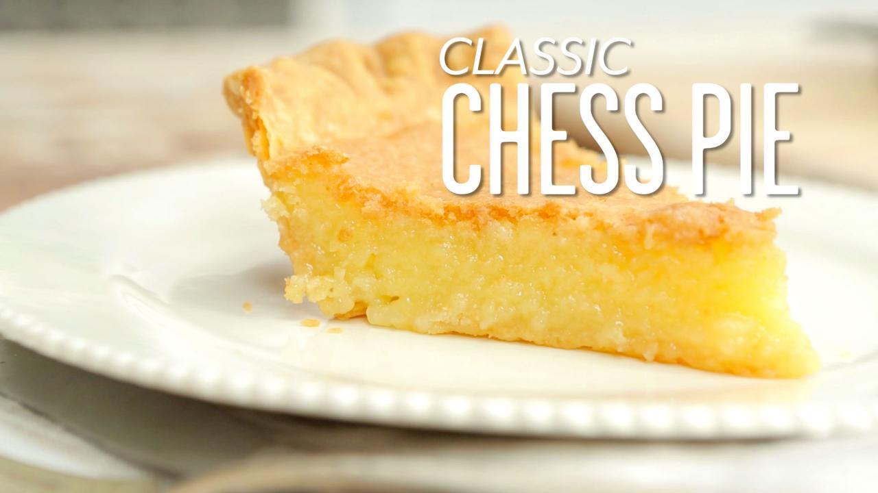 Paula Deen Chocolate Chess Pie