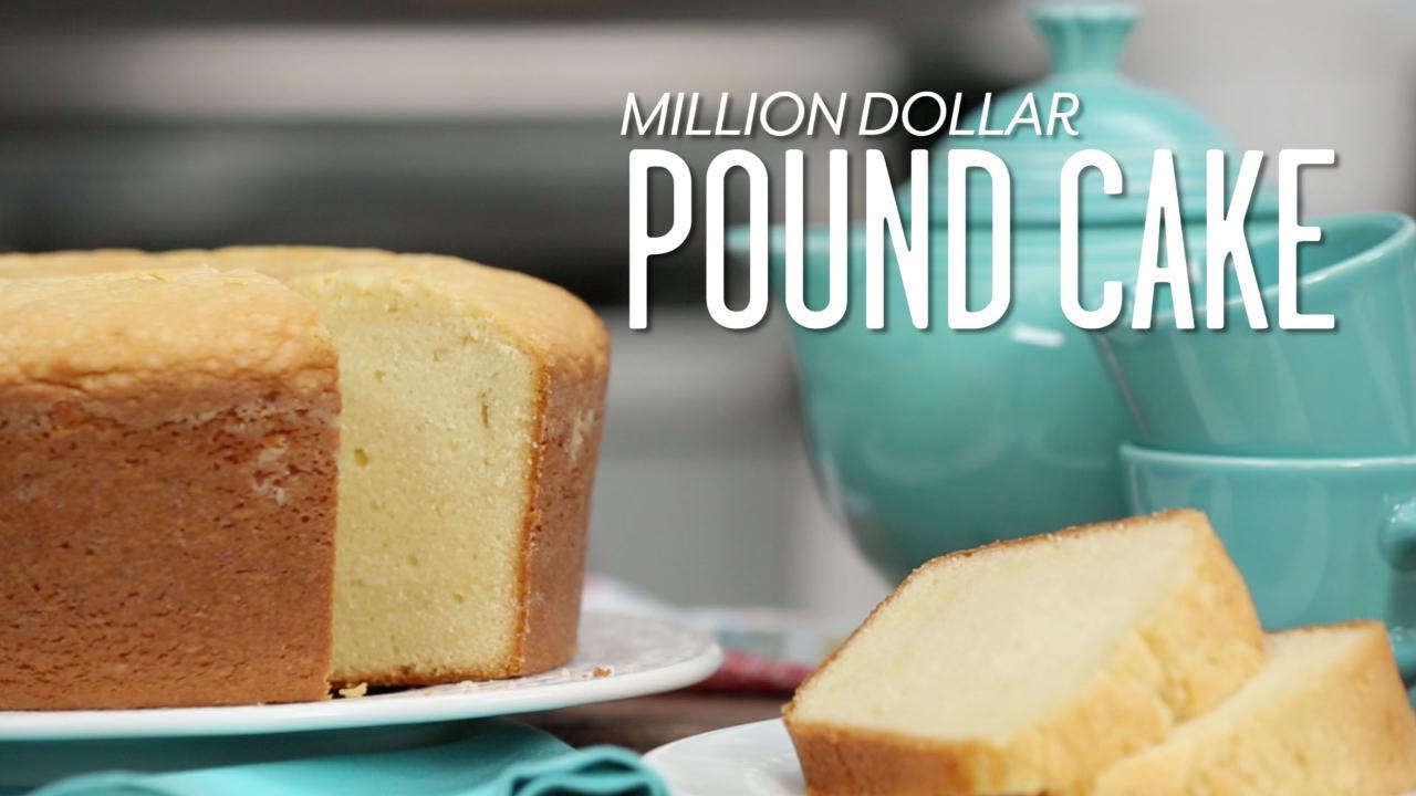 Soul food butter pound cake recipe
