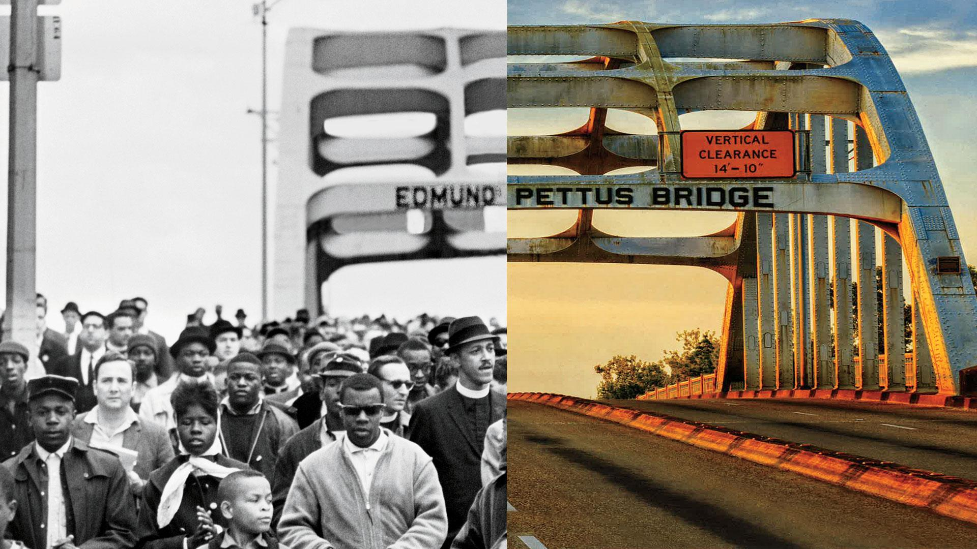 Iconic Civil Rights Landmarks  Then  U0026 Now