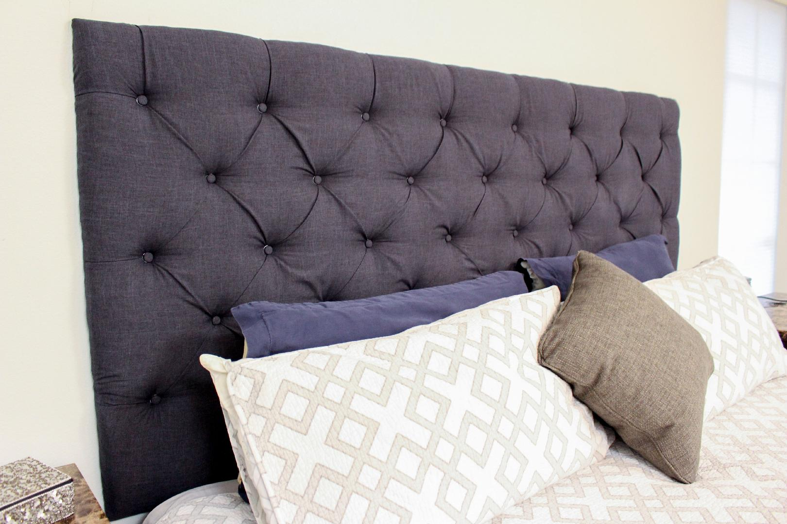 Headboard Diy Upgrade Your Master Bedroom With A Diy Tufted Headboard Southern