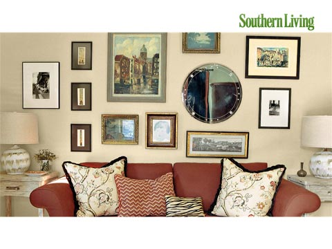 Living Room Decorating Ideas: Mantels, Bookshelves, and Wall Art ...