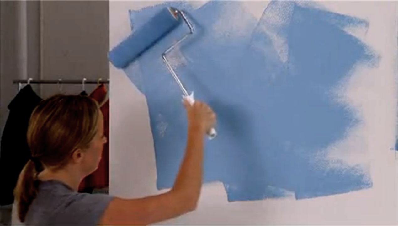How To Paint A Wall Properly -
