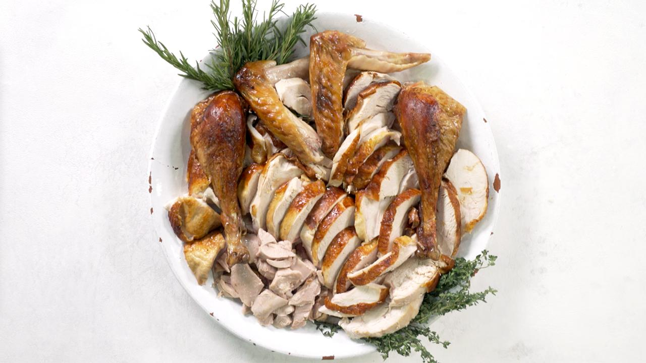 how to carve a turkey properly video and steps