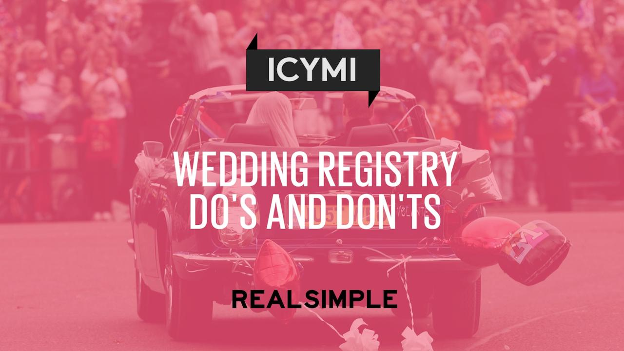customers who want to get started can create manage or find a registry on myregistrys site and new registrants dont even have to start from