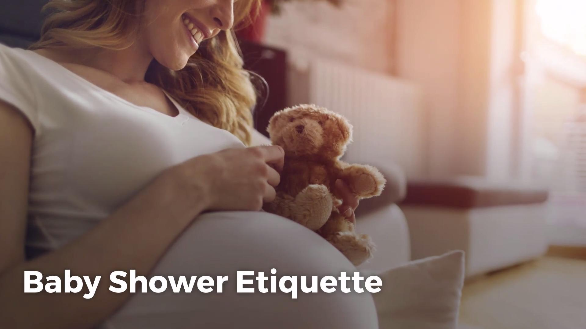 Baby Shower Etiquette Real Simple