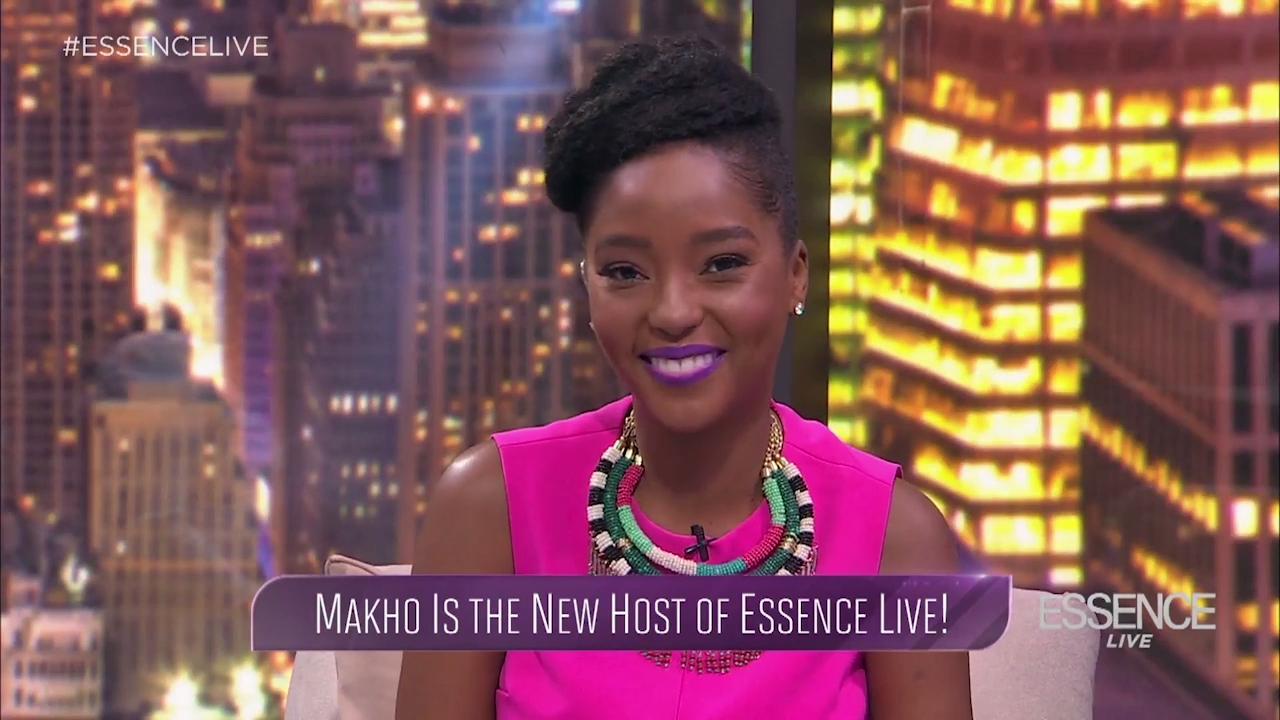 essence live new host makho ndlovu | essence