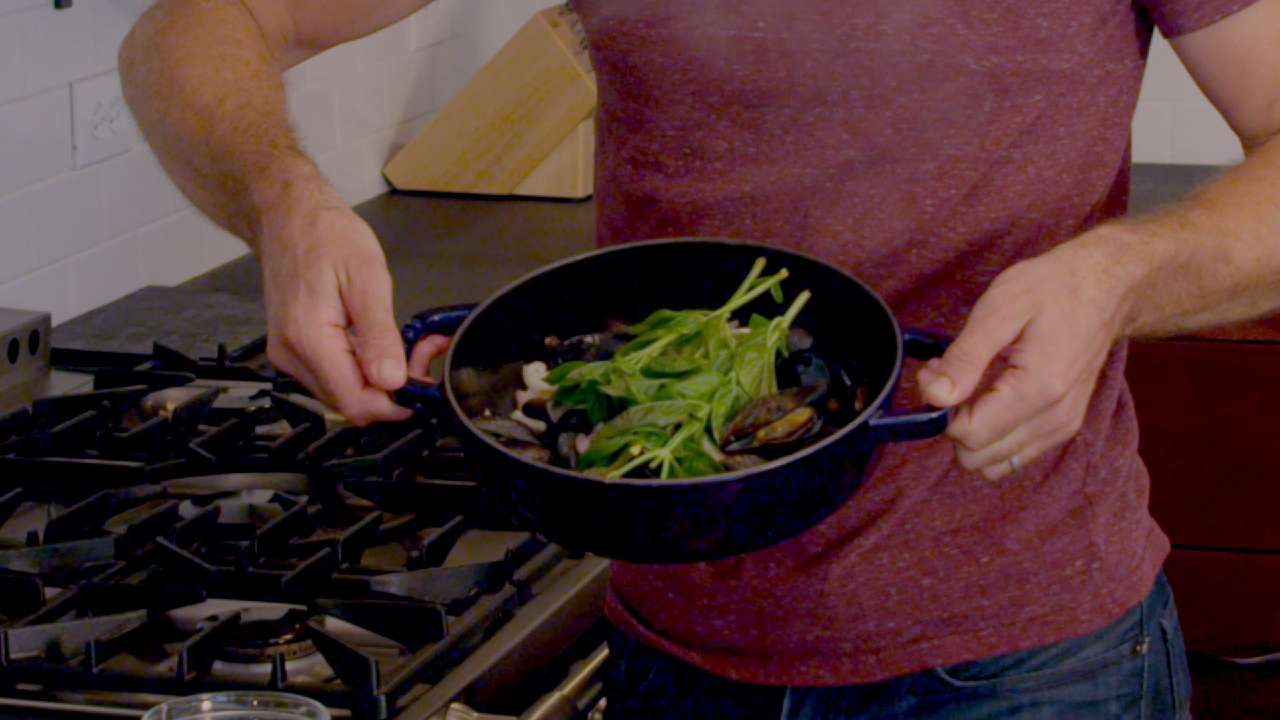 How to Cook Blue Mussels with White Wine, Mustard ...