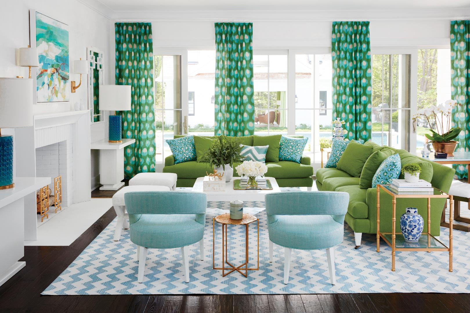 Cool Living Room Colors. Color Crush Coastal Idea Houses  Living