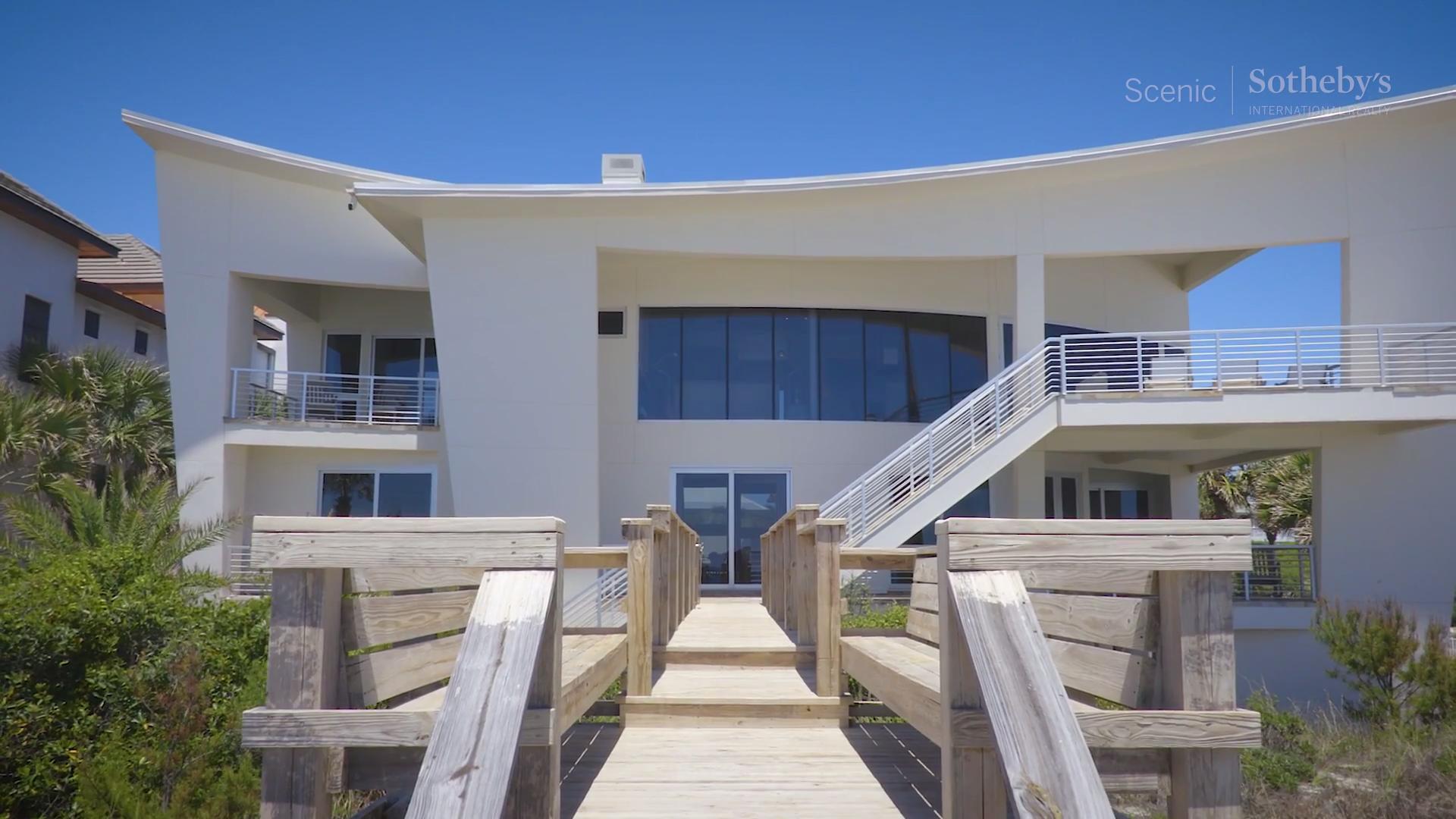 tour a waterfront masterpiece in santa rosa beach florida coastal living